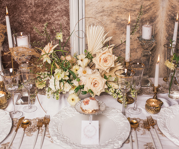 Soft And Sweet White And Rose Gold Wedding Ideas Todays Bride
