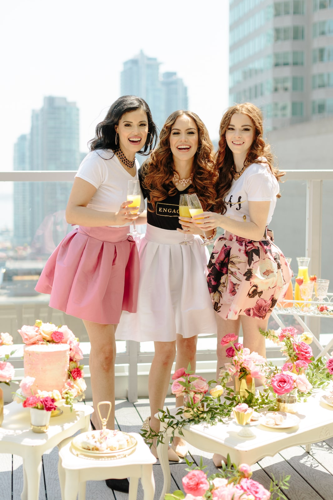 Golden girls: planning the perfect bridal shower - Todays
