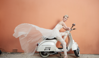 Bridal fashion in Bermuda