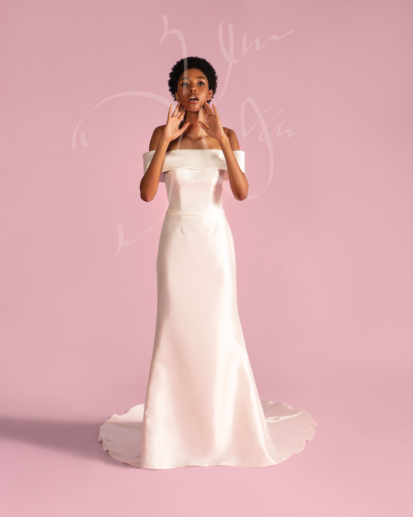 Dress: David's Bridal Collection