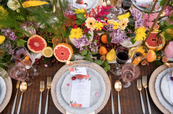Colourful wedding inspiration