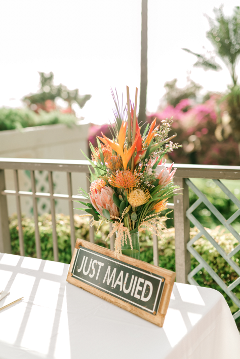 Wailea wedding